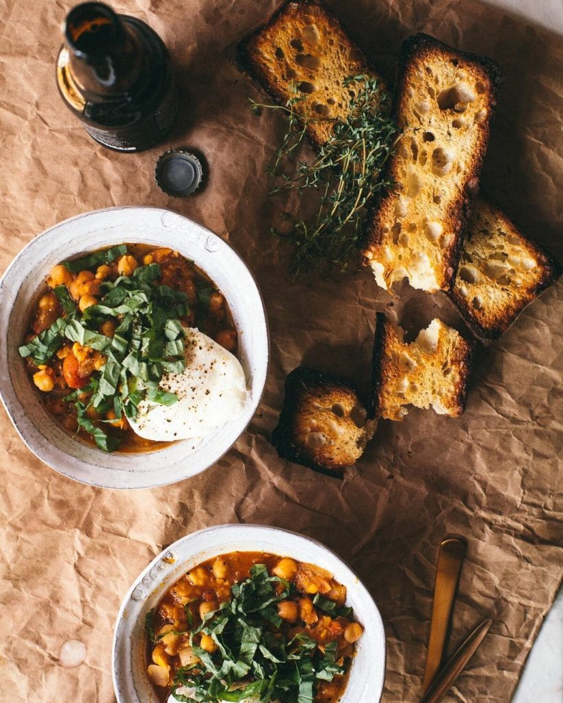 I think Saturdays are made for the Chickpea Stew fromhellip