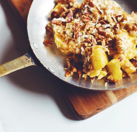 health-ified pineapple casserole