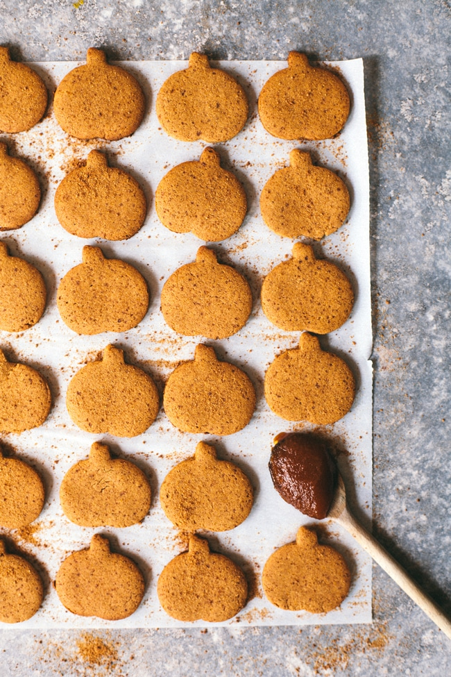 Pumpkin Gingerbread Cookies | Brewing Happiness Brewing Happiness