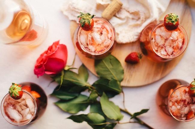 Vodka Rosé Valentines Day Sparkler   Brewing Happiness