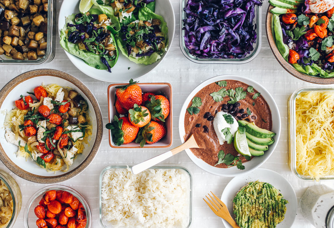Creative Vegetarian Meal Prep Guide | Brewing Happiness